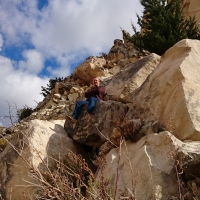 Ущелье Авакас - отдых перед обратной дорогой