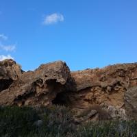 Скалы по дороге к ущелью