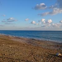 Зимний пляж в Писсури
