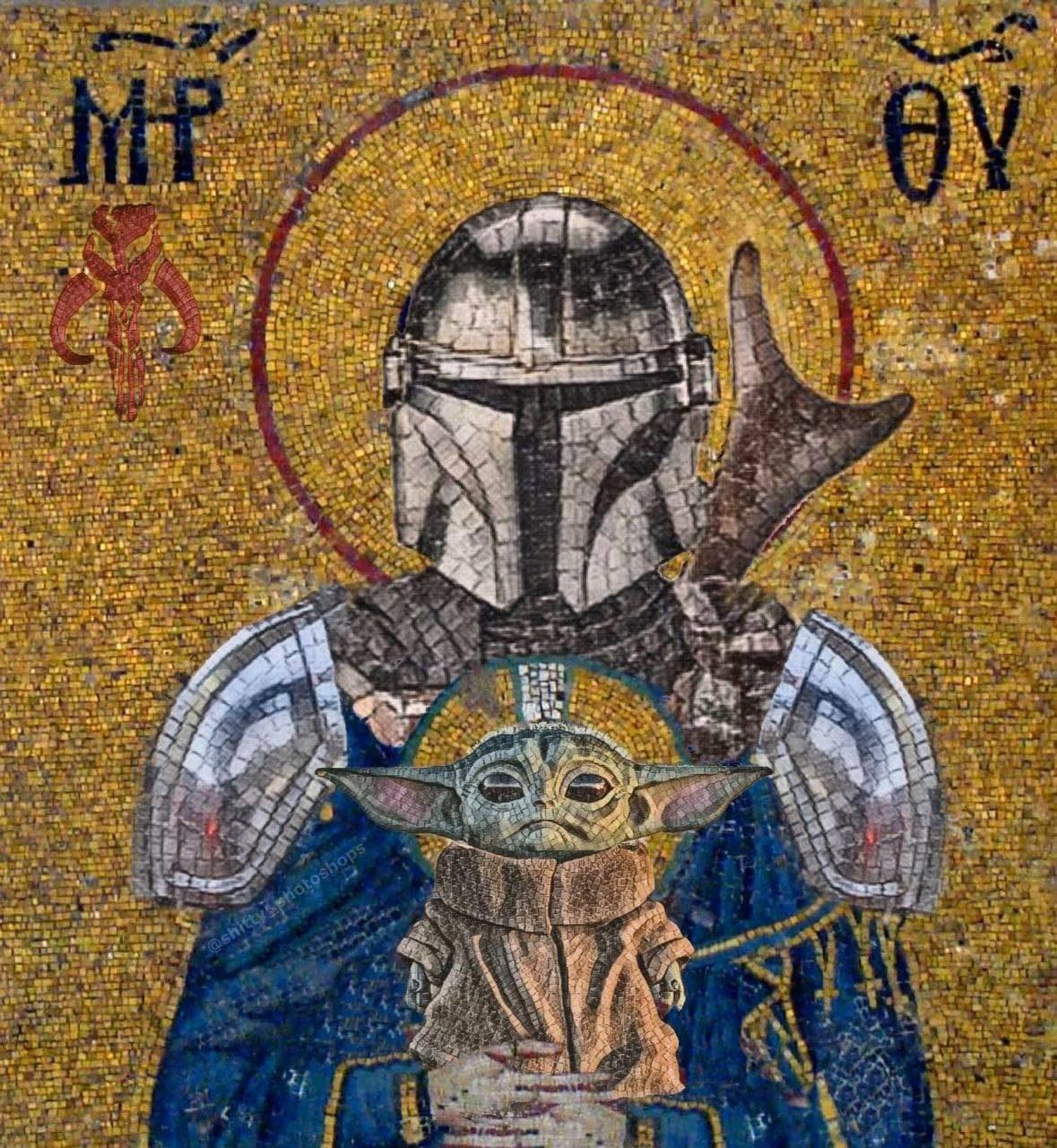 Святой Мандалорец