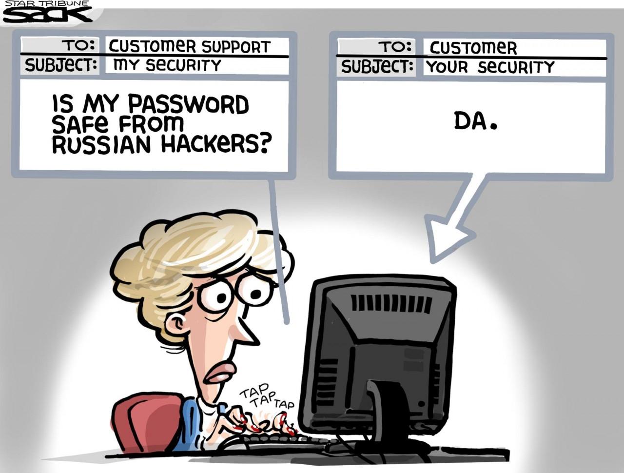 Как защититься от русских хакеров