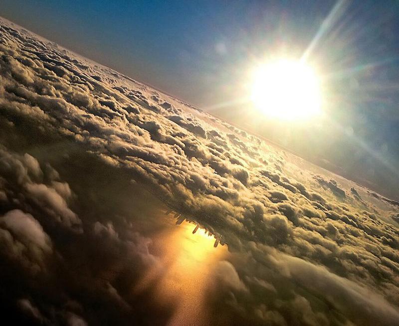 Отражение Чикаго