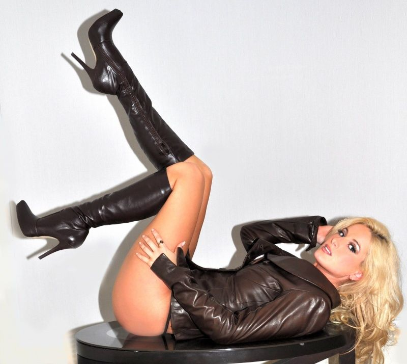 Latex boots stories