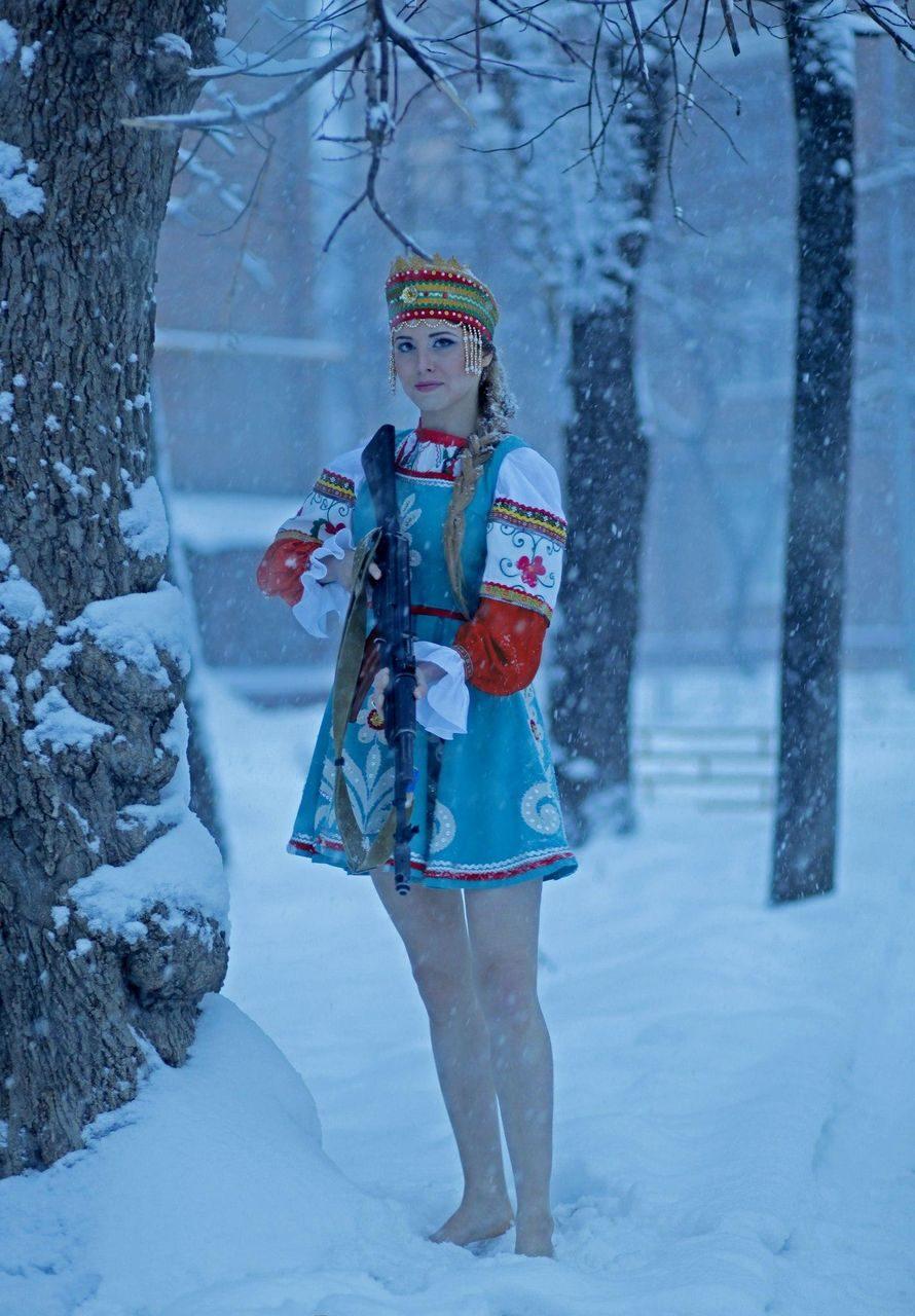 Обычная русская девушка