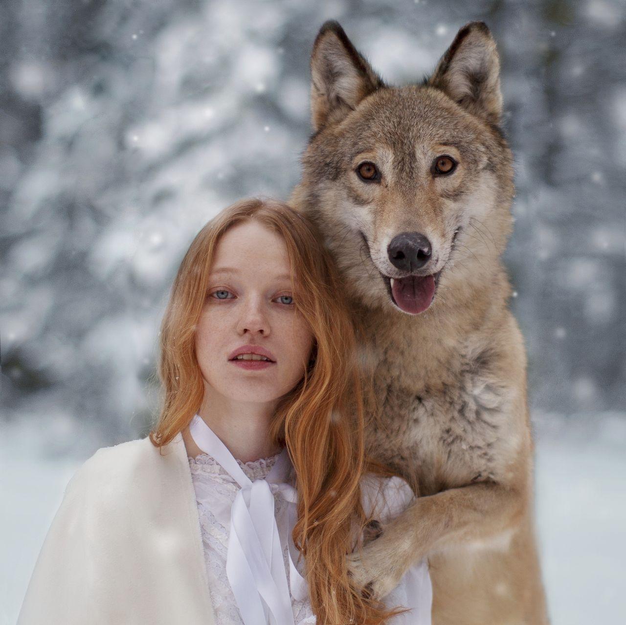 Фото с лесной собачкой