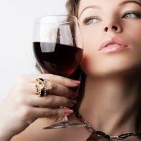Пятничный бокал красного сухого
