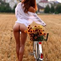 Нарву цветов и подарю букет...