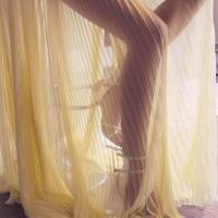 Плотная непрозрачная юбка!