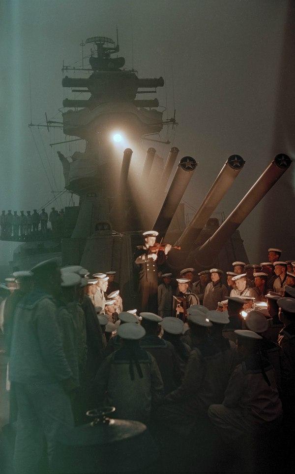 Вечер на крейсере «Калинин»