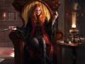 Рисованный волшебный рыжик ;)