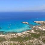 Голубая лагуна, Акамас