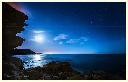Blue hours in Cyprus