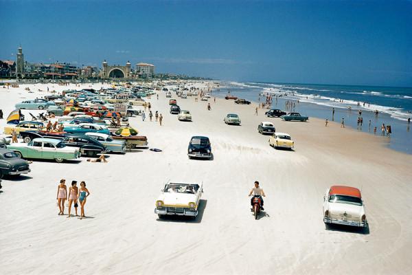 Florida, Daytona Beach, 1957