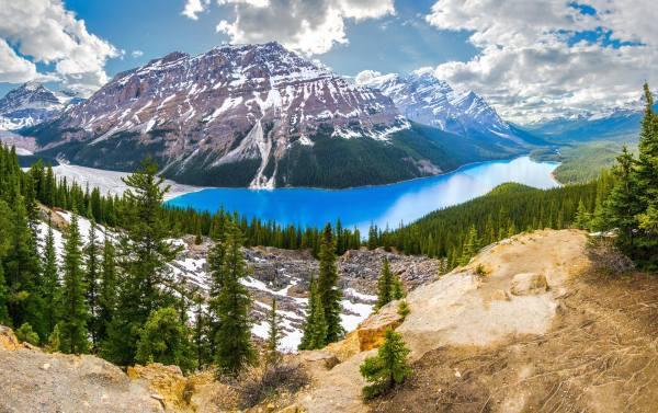 Lake Peyto, Canada