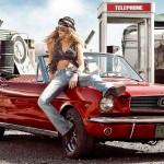 Mustang babe