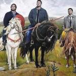 Три богатыря из Supernatural
